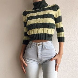 Cozy Knitted Cropped Sweater